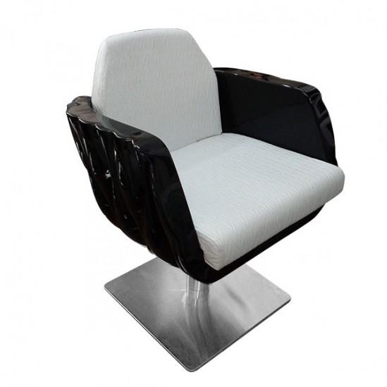 Луксозен професионален фризьорски стол - модел Перла