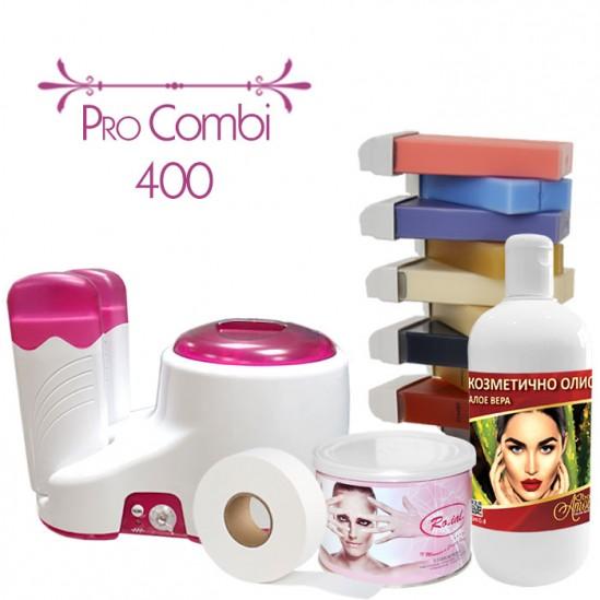 Комплект за епилация с кола маска - PRO COMBI 400