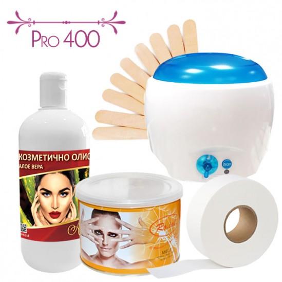 Пакет за епилация с кола маска - PRO 400