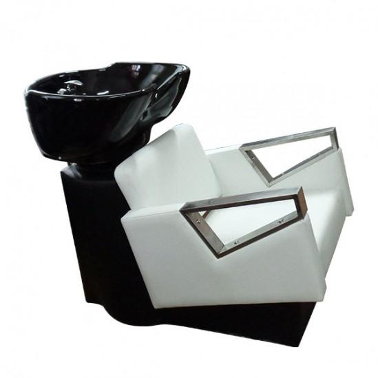 Фризьорска измивна колона с керамична мивка модел 3573