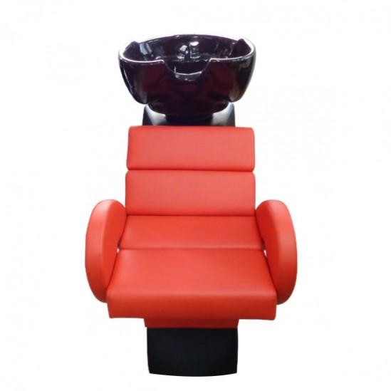 Професионална измивна колона Модел FO22 в червен цвят