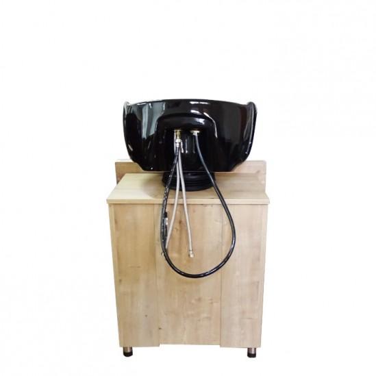 Измивна колона с дървена рамка - 253