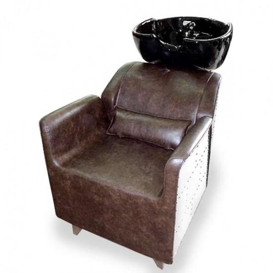 Стилен фризьорски комплект – Измивна колона + Фризьорски стол