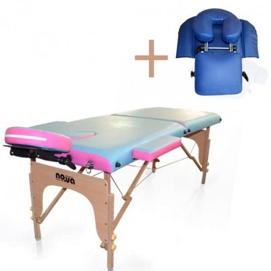 Промоция Масажна Кушетка NО.VA Standart DeLux NV26 + стойка за масаж