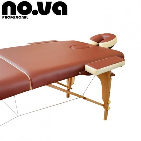 Преносима дървена масажна кушетка, NO.VA Standart Delux, NV28