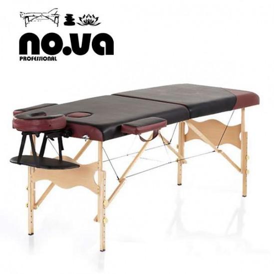 Дървена Масажна Кушетка - преносима NO.VA Standart DeLux NV21