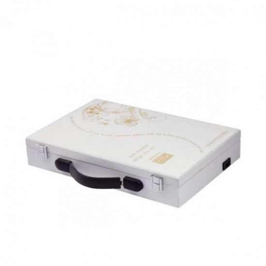 Практичен нагревател-куфарче за вулканични масажни камъни, 5506
